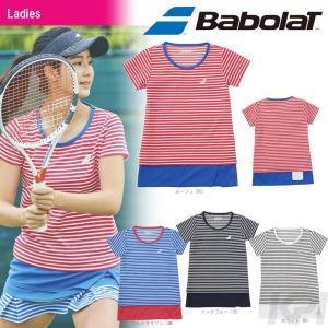 バボラ Babolat 「Women's レディース ショートスリーブシャツ BAB-1787W」テニスウェア「2017FW」『即日出荷』|kpi24