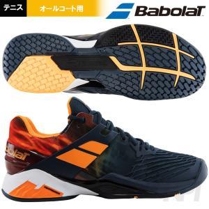 Babolat バボラ 「PROPULSE FURY All Court M GO プロパルス フューリー オールコート M  BAS17208-GO」オールコート用テニスシューズ|kpi24