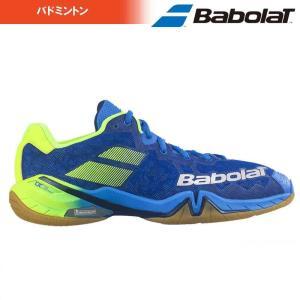 バボラ Babolat バドミントンシューズ メンズ SHADOW TOUR M シャドーツアー W BASF1801-BL|kpi24