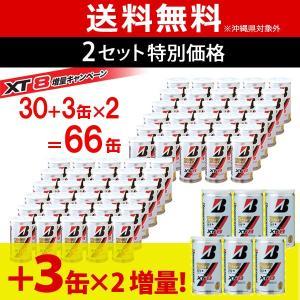 「2箱セット」「増量キャンペーン」BRIDGESTONE ブリヂストン XT8 [2個入]1箱 30+3缶=66球 ×2箱セット 66缶/132球 テニスボール 『即日出荷』|kpi24