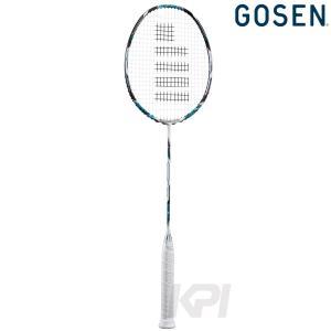 GOSEN ゴーセン 「GUNGNIR BETA グングニルベータ ホワイトエメラルド BGNGB-WE」バドミントンラケット|kpi24