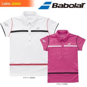 バボラ Babolat テニスウェア ジュニア SHORT SLEEVE SHIRT ショートスリーブシャツ BTJLJA01 2018SS|kpi24