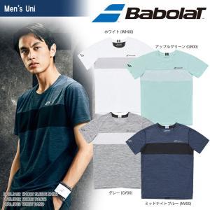 バボラ Babolat テニスウェア ユニセックス SHORT SLEEVE SHIRT ショートスリーブシャツ BTULJA02 2018SS[ネコポス可]|kpi24