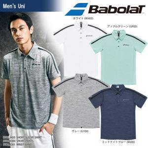 バボラ Babolat テニスウェア ユニセックス SHORT SLEEVE SHIRT ショートスリーブシャツ BTULJA03 2018SS[ネコポス可]|kpi24