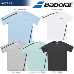 バボラ Babolat テニスウェア ユニセックス SHORT SLEEVE SHIRT ショートスリーブシャツ BTULJA04 2018SS[ネコポス可]|kpi24