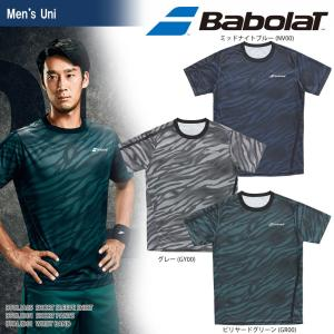 バボラ Babolat テニスウェア ユニセックス SHORT SLEEVE SHIRT ショートスリーブシャツ BTULJA05 2018SS[ネコポス可]|kpi24