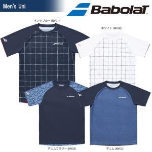 バボラ Babolat テニスウェア ユニセックス SHORT SLEEVE SHIRT ショートスリーブシャツ BTULJA07 2018SS|kpi24