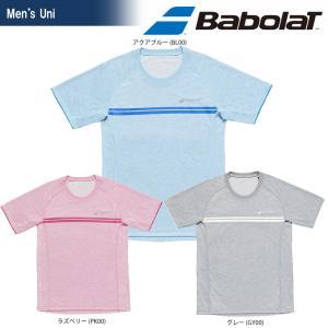 バボラ Babolat テニスウェア ユニセックス SHORT SLEEVE SHIRT ショートスリーブシャツ BTULJA12 2018SS[ネコポス可]|kpi24