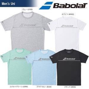 バボラ Babolat テニスウェア ユニセックス SHORT SLEEVE SHIRT ショートスリーブシャツ BTULJA30 2018SS[ポスト投函便対応]|kpi24