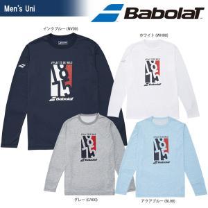 バボラ Babolat テニスウェア ユニセックス LONG SLEEVE SHIRT ロングスリーブシャツ BTULJB31 2018SS[ポスト投函便対応]|kpi24