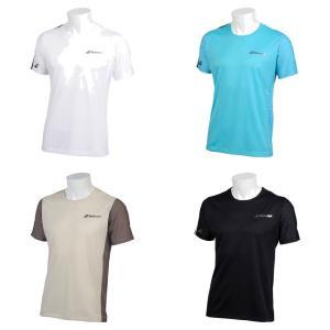 バボラ Babolat テニスウェア ユニセックス ショートスリーブシャツ SHORT SLEEVE SHIRT BTUNJA00 2019SS「ランドリーバッグプレゼント対象」|kpi24