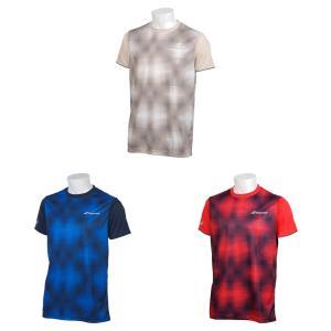 バボラ Babolat テニスウェア ユニセックス ショートスリーブシャツ SHORT SLEEVE SHIRT BTUNJA10 2019SS「ランドリーバッグプレゼント対象」|kpi24