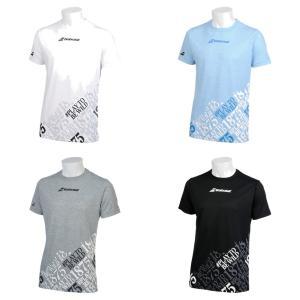 バボラ Babolat テニスウェア ユニセックス ショートスリーブシャツ SHORT SLEEVE SHIRT BTUNJA30 2019SS|kpi24