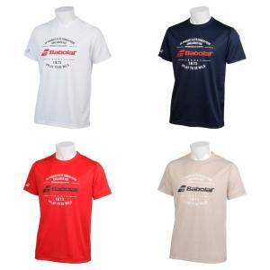 バボラ Babolat テニスウェア ユニセックス ショートスリーブシャツ SHORT SLEEVE SHIRT BTUNJA34 2019SS|kpi24
