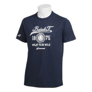 バボラ Babolat テニスウェア ユニセックス ショートスリーブシャツ SHORT SLEEVE SHIRT BTUNJA36 2019SS|kpi24|02