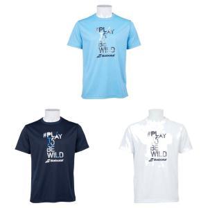 バボラ Babolat テニスウェア ユニセックス 半袖シャツ SHORT SLEEVE SHIRT BTUOJA34 2019FW [ポスト投函便対応]|kpi24