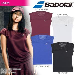 バボラ Babolat テニスウェア レディース SHORT SLEEVE SHIRT ショートスリーブシャツ BTWLJA01 2018SS[ネコポス可]|kpi24