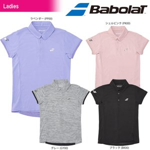 バボラ Babolat テニスウェア レディース SHORT SLEEVE SHIRT ショートスリーブシャツ BTWLJA03 2018SS[ポスト投函便対応]|kpi24