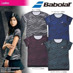 バボラ Babolat テニスウェア レディース SHORT SLEEVE SHIRT ショートスリーブシャツ BTWLJA05 2018SS[ポスト投函便対応]|kpi24