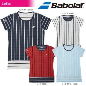 バボラ Babolat テニスウェア レディース SHORT SLEEVE SHIRT ショートスリーブシャツ BTWLJA08 2018SS|kpi24