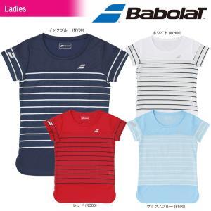 バボラ Babolat テニスウェア レディース SHORT SLEEVE SHIRT ショートスリーブシャツ BTWLJA09 2018SS[ネコポス可]|kpi24