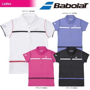バボラ Babolat テニスウェア レディース SHORT SLEEVE SHIRT ショートスリーブシャツ BTWLJA16 2018SS[ネコポス可]|kpi24