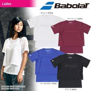 バボラ Babolat テニスウェア レディース SHORT SLEEVE SHIRT ショートスリーブシャツ BTWLJA30 2018SS[ネコポス可]|kpi24