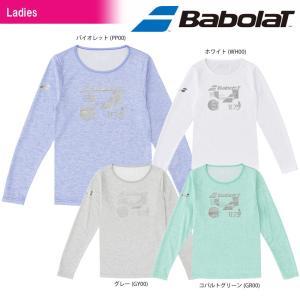 バボラ Babolat テニスウェア レディース LONG SLEEVE SHIRT ロングスリーブシャツ BTWLJB30 2018SS[ポスト投函便対応]|kpi24