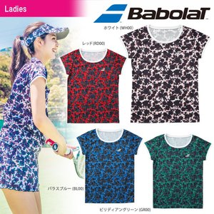 バボラ Babolat テニスウェア レディース ショートスリーブシャツ BTWMJA06 2018FW|kpi24
