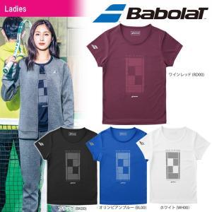 バボラ Babolat テニスウェア レディース ショートスリーブシャツ BTWMJA31 2018FW|kpi24
