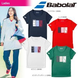 バボラ Babolat テニスウェア レディース ショートスリーブシャツ BTWMJA32 2018FW|kpi24