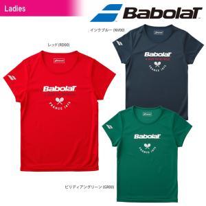 バボラ Babolat テニスウェア レディース ショートスリーブシャツ BTWMJA35 2018FW 『即日出荷』|kpi24