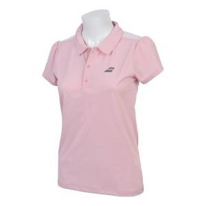バボラ Babolat テニスウェア レディース ショートスリーブシャツ SHORT SLEEVE SHIRT BTWNJA03 2019SS「ランドリーバッグプレゼント対象」|kpi24