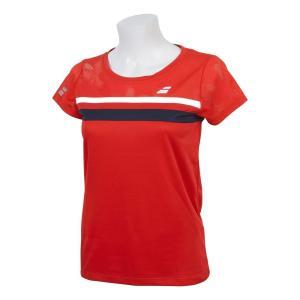 バボラ Babolat テニスウェア レディース ショートスリーブシャツ SHORT SLEEVE SHIRT BTWNJA07 2019SS「ランドリーバッグプレゼント対象」|kpi24|04