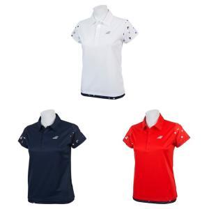 バボラ Babolat テニスウェア レディース ショートスリーブシャツ SHORT SLEEVE SHIRT BTWNJA12 2019SS「ランドリーバッグプレゼント対象」|kpi24