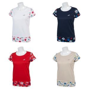 バボラ Babolat テニスウェア レディース ショートスリーブシャツ SHORT SLEEVE SHIRT BTWNJA14 2019SS「ランドリーバッグプレゼント対象」|kpi24