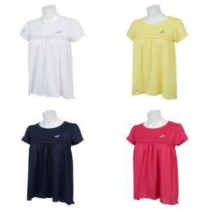 バボラ Babolat テニスウェア レディース ショートスリーブシャツ SHORT SLEEVE SHIRT BTWNJA16 2019SS「ランドリーバッグプレゼント対象」|kpi24