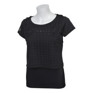 バボラ Babolat テニスウェア レディース ショートスリーブシャツ SHORT SLEEVE SHIRT BTWNJA33 2019SS 『即日出荷』|kpi24|05