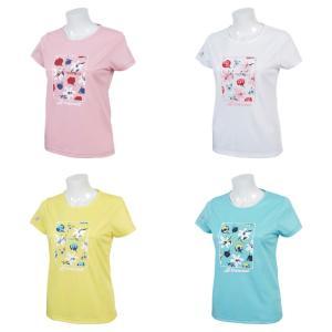 バボラ Babolat テニスウェア レディース ショートスリーブシャツ SHORT SLEEVE SHIRT BTWNJA36 2019SS|kpi24