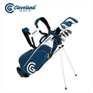 ダンロップ DUNLOP クリーブランド CLEVELAND ゴルフクラブ ジュニア GOLF ジュニア SET 7本セット キャディバッグ付「11-14才」 CGJL7S|kpi24