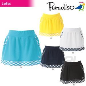 PARADISO パラディーゾ 「レディーススコート DCL04L」テニスウェア「2016SS」[ネコポス可]|kpi24