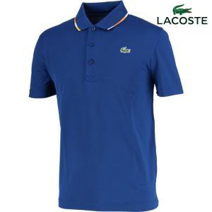 ラコステ LACOSTE テニスウェア メンズ パイピングテクニカルピケテニスポロシャツ DH3122L-PXV 2018SS『即日出荷』 kpi24