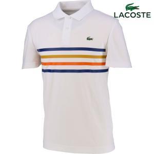 ラコステ LACOSTE テニスウェア メンズ カラーバンドテクニカルピケテニスポロシャツ DH3138L-PY3 2018SS『即日出荷』 kpi24