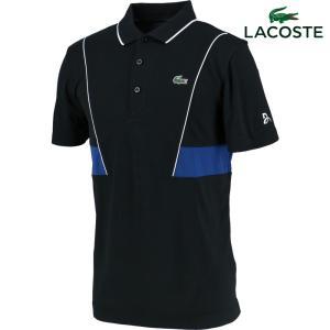 ラコステ LACOSTE テニスウェア メンズ ノバク・ジョコビッチ テクニカルピケポロシャツ DH3325L-JUK 2018SS『即日出荷』 kpi24