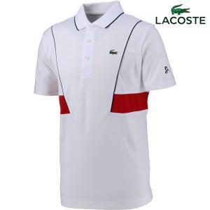 ラコステ LACOSTE テニスウェア メンズ ノバク・ジョコビッチ テクニカルピケポロシャツ DH3325L-KEJ 2018SS『即日出荷』 kpi24