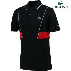 ラコステ LACOSTE テニスウェア メンズ ノバク・ジョコビッチ テクニカルピケポロシャツ DH3325L-PRV 2018SS『即日出荷』 kpi24
