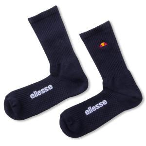 エレッセ Ellesse テニスアクセサリー ユニセックス 90レギュラーソックス90 Regular Socks EAC0855-NN[ネコポス可]|kpi24