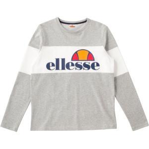 エレッセ Ellesse テニスウェア メンズ ロングスリーブシャツ EE17313-MX 2018SS[ポスト投函便対応]|kpi24