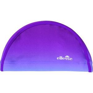 エレッセ Ellesse 水泳キャップ・バイザー  グラデーションスイムキャップ ES92750-PU kpi24