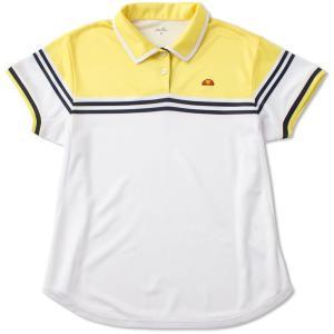 テニスウェア レディース エレッセ Ellesse TEAMポロシャツ ETS0700L 2017SS2017新製品|kpi24